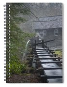 Old Mill In The Smokey Mountains Spiral Notebook