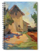 Old Mill Provence Spiral Notebook