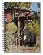 Old Miner's Cabin Spiral Notebook