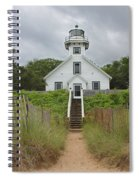 Old Mission Point Lighthouse Spiral Notebook