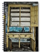 Old Mother Hubbards Cupboard Spiral Notebook