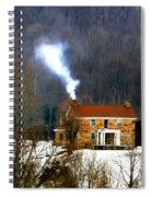 Old Native Stone Ross Co. Spiral Notebook