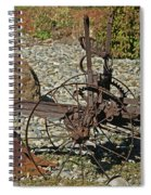 Old Plow Spiral Notebook