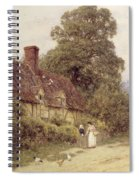 Old Post Office Brook Near Witley Surrey Spiral Notebook