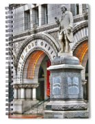 Old Post Office Pavillion Washington Dc Spiral Notebook