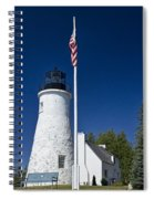 Old Presque Isle Light Station Spiral Notebook