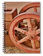 Old Pump Spiral Notebook