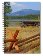 Old Ranch Wagon Spiral Notebook