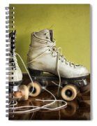 Old Roller-skates Spiral Notebook