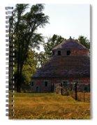 Old Round Barn Spiral Notebook