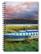 Old Row Boats Spiral Notebook