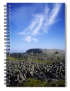 Old Ruins Of A Fort On The Landscape Spiral Notebook