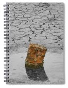 Old Rusted Barrel Abstract Spiral Notebook