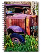 Old Rusting Truck Spiral Notebook