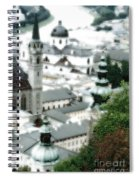 Old Salzburg Spiral Notebook