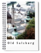 Old Salzburg Poster Spiral Notebook