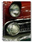 Old School Fire Spiral Notebook