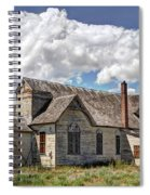 Old Schoolhouse - Ovid - Idaho Spiral Notebook