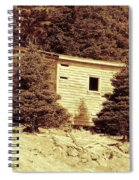 Old Shed Nothing Left But Memories Spiral Notebook