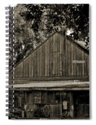 Old Spanish Sugar Mill Old Photo Spiral Notebook
