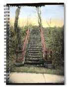 Old Stairs Spiral Notebook