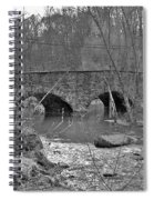 Old Stone Bridge Over The Unami Creek - Sumneytown Pa Spiral Notebook