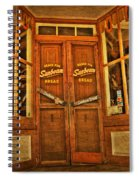 Old Store Front Spiral Notebook