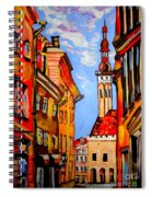 Old Tallinn Spiral Notebook