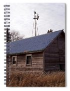 Old Time Barn From Days Gone By Spiral Notebook