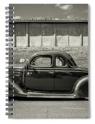 Old Time Class Spiral Notebook