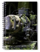 Old Time Equipment Spiral Notebook