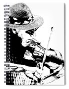 Old Time Fiddle Player No.560 Spiral Notebook