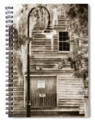 Old Times Spiral Notebook