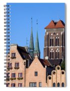 Old Town In Gdansk Spiral Notebook