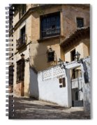 Old Town In Ronda Spiral Notebook