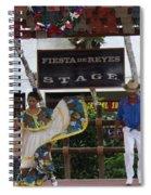 Old Towne San Diego Dancing Spiral Notebook