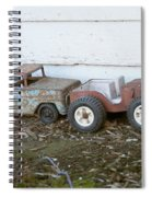 Old Toys II Spiral Notebook
