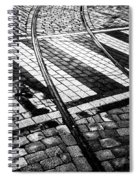 Old Tracks Made New Spiral Notebook