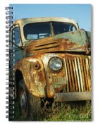 Old Tri-way Truck Spiral Notebook