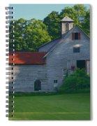 Old Vermont Barn Spiral Notebook