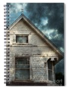 Old Victorian House Detail Spiral Notebook