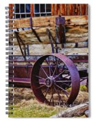 Old Wagon Bodie Ghost Town Spiral Notebook