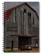 Old Wagon Older Barn Spiral Notebook
