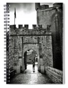 Old Walls Spiral Notebook