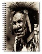 Old Warrior Spiral Notebook