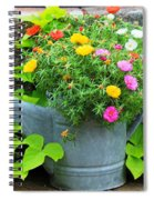Old Watering Can Spiral Notebook