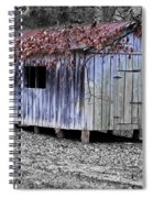 Old Weathered Shed Spiral Notebook