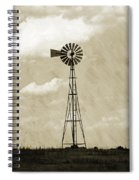 Old Windmill I Spiral Notebook