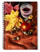 Old Wine Glass Spiral Notebook