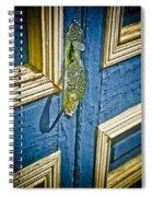 Old Wood Door Spiral Notebook